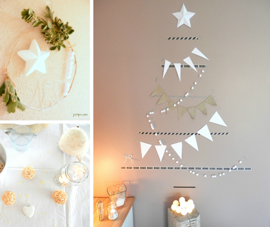3 diy pour une d co de no l nature joli tipi for Photo de decoration de noel