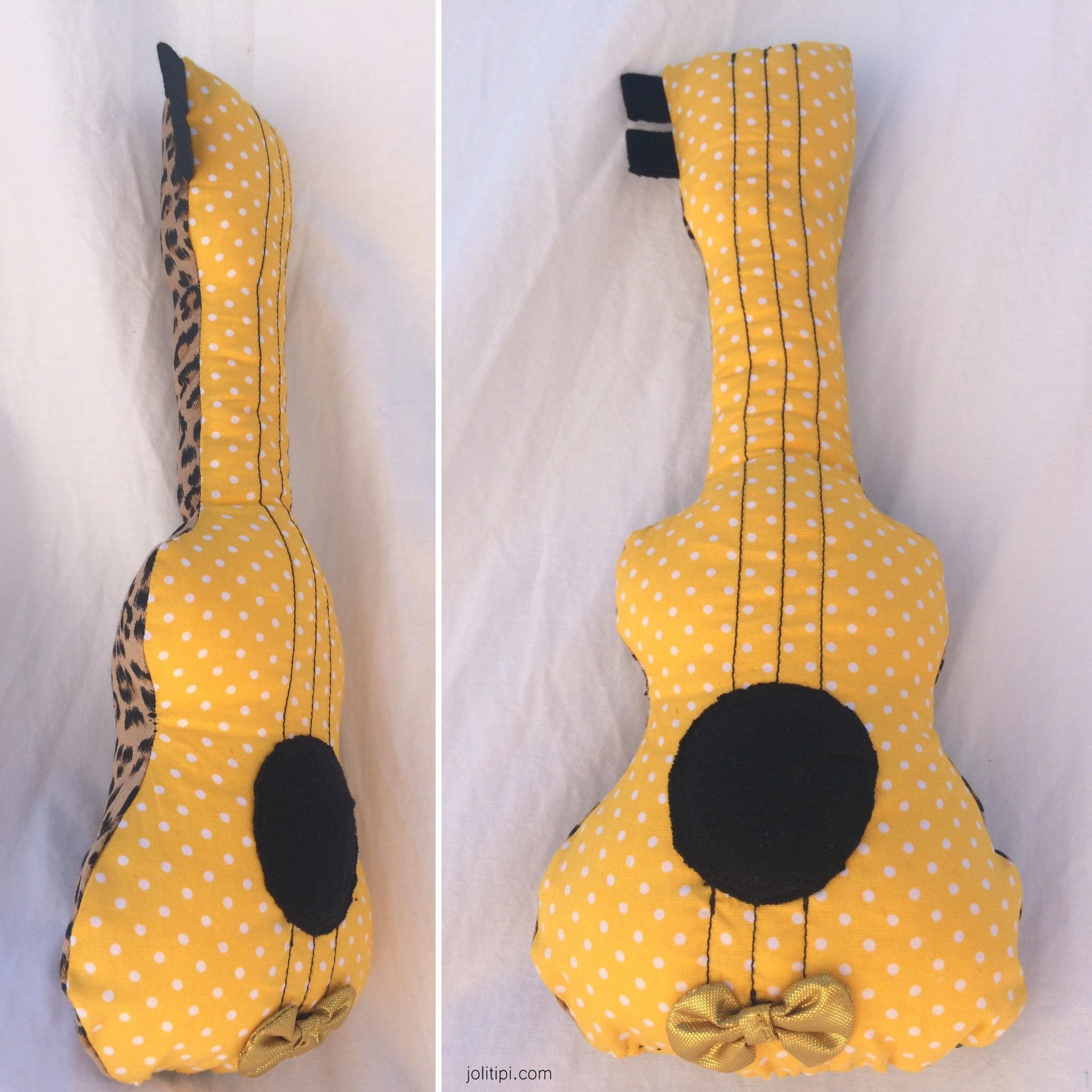 DIY mini-guitare hochet pour enfant - Joli Tipi (1)