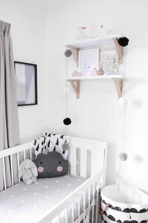 chambre-bébé-blanc-noir