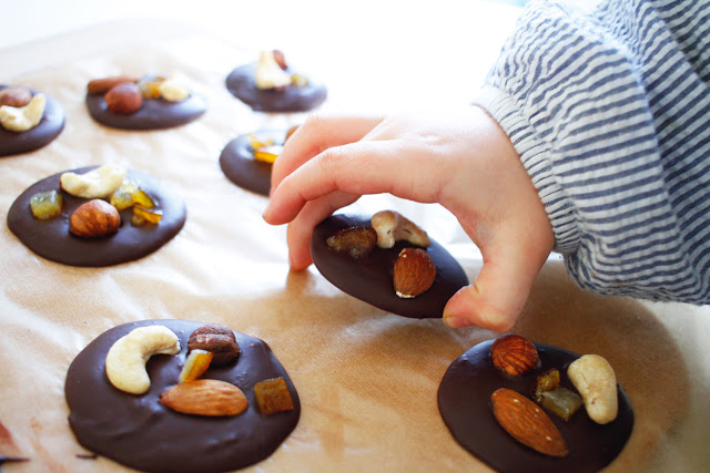 cadeaux faits mains recette mendiants chocolat