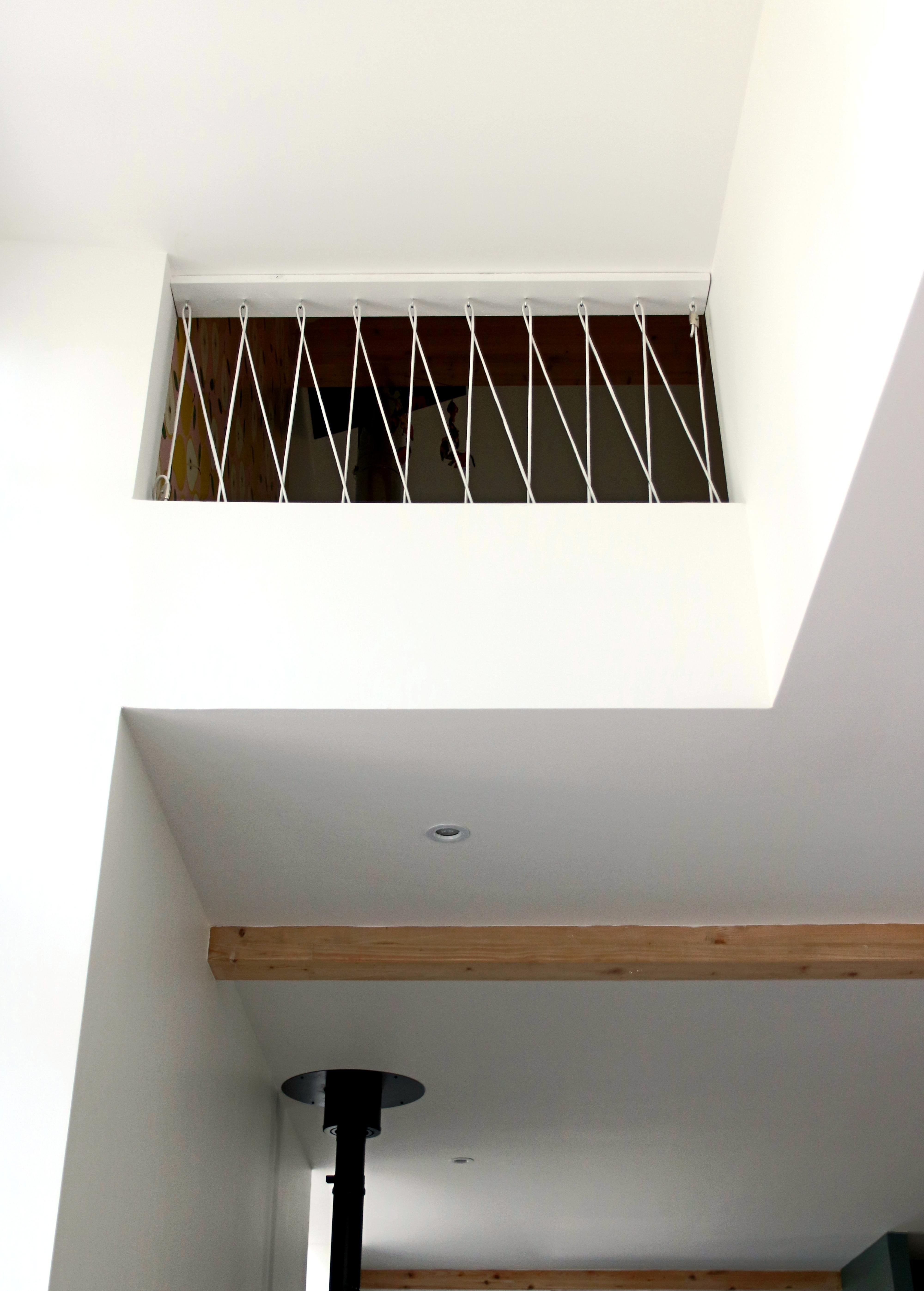 tuto fabriquer une rampe en cordage élastique étapes