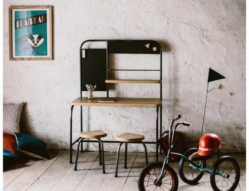 Sélection rentrée : Un bureau d'enfant qui sort de l'ordinaire !