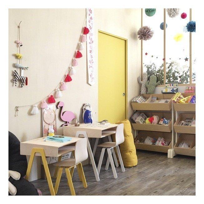 bureau enfant maternelle bois