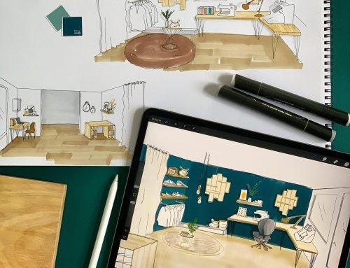 """Agencer et décorer une Boutique Atelier """"Cosy Chic"""""""